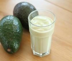Avocado-banaan milkshake