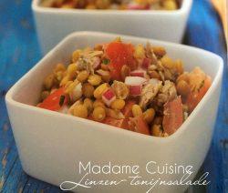 Linzen-tonijnsalade