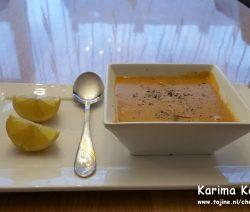 Biologisch Turkse linzensoep recept voor 4 personen