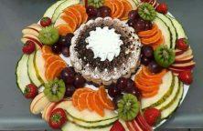 Marokkaanse ijstaart fruitsalade
